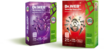 Dr.Web Security Space, Dr.Web Antivirus Pro